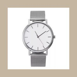 Orologio SILVER Womens Designer Stainless Watch